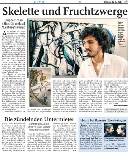 Kultur, Andreas Radlmaier intervista Simone Mannino